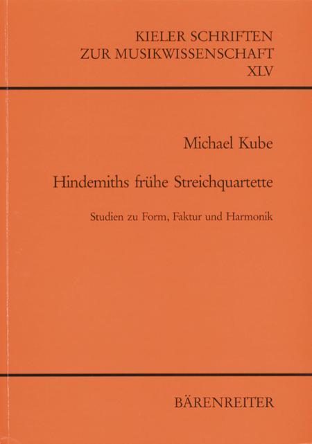 Hindemiths fruhe Streichquartette (1915-1923)