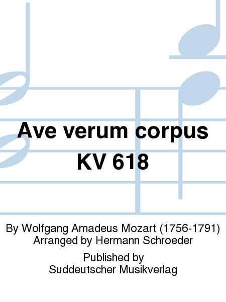 Ave verum corpus KV 618