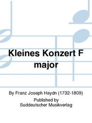 Kleines Konzert F major