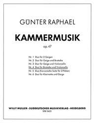 Duo (1940) A major, Op. 47,4