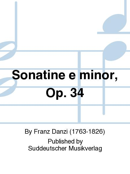 Sonatine e minor, Op. 34
