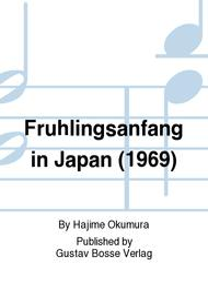 Fruhlingsanfang in Japan (1969)