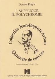 Supplique - Polychromie
