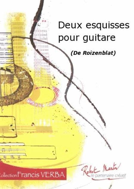 Deux Esquisses Pour Guitare