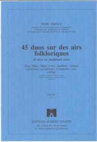 Quarante-Cinq Duos Sur des Airs Folkloriques
