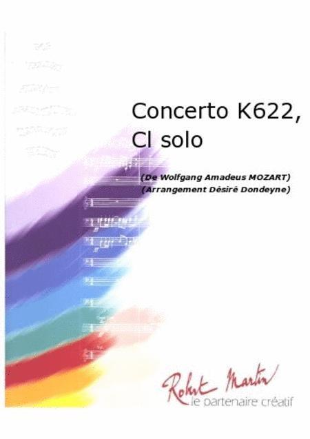 Concerto K622, Clarinette Solo