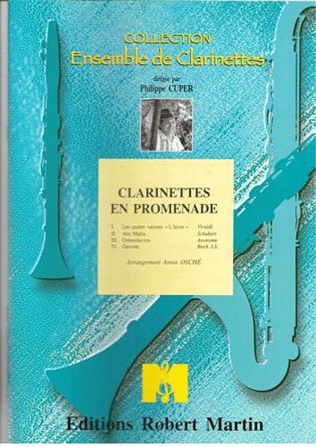 Clarinettes En Promenade, 4 Clarinettes
