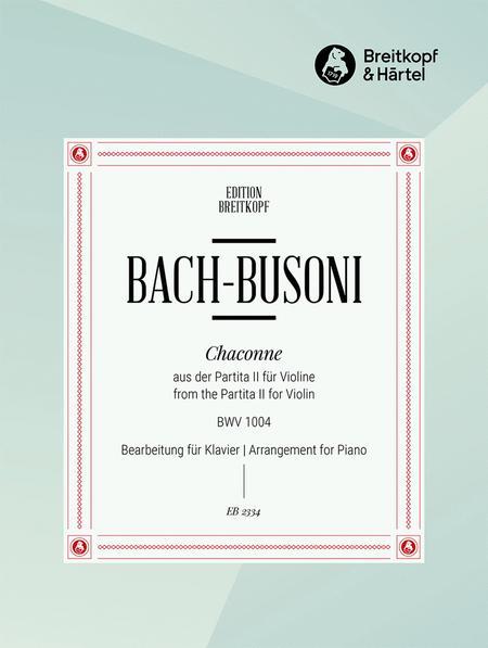 Chaconne d-moll aus BWV 1004