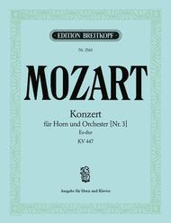 Hornkonzert Nr. 3 Es-dur KV 447