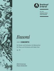 Concerto For Piano And Orchestra With Male Choir, Op. 39