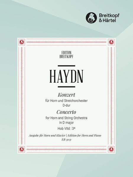Horn Concerto in D major Hob VIId:3