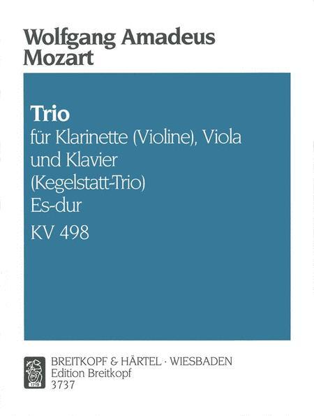 Trio Es-dur KV 498