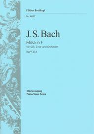 Mass in F major BWV 233