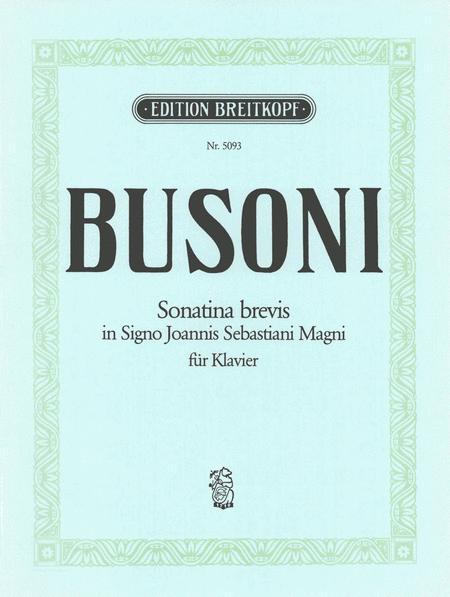 Sonatina brevis K 280