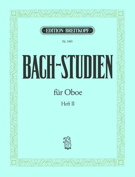 Bach-Studies for Oboe