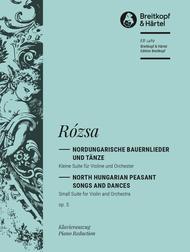 Nordungarische Bauernlieder und Tanze