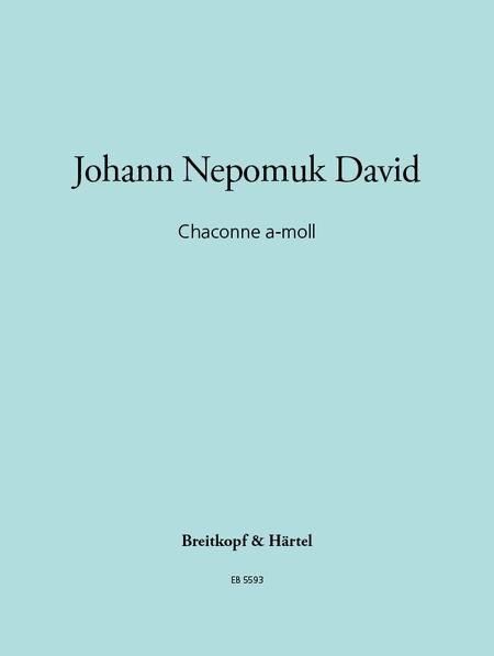 Chaconne a-moll