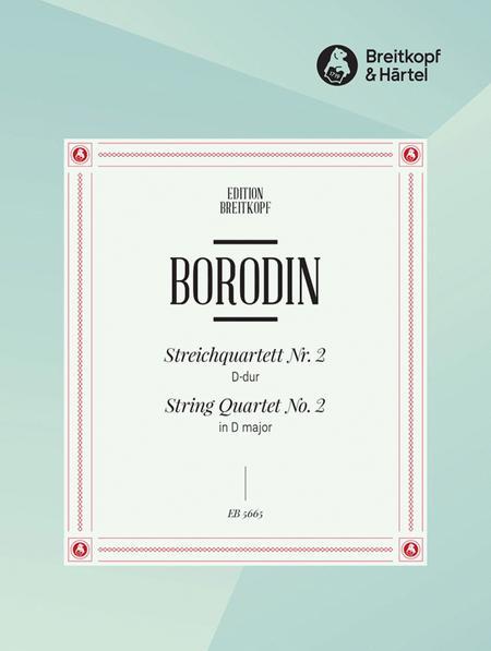 Streichquartett, Nr. 2 D-dur