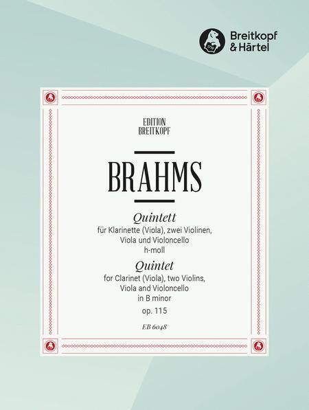 Klar.Quintett h-moll op. 115