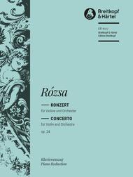 Violinkonzert op. 24