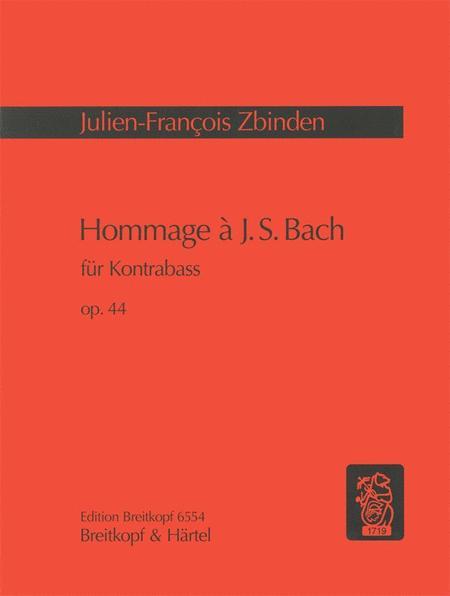 Hommage a J. S. Bach Op. 44