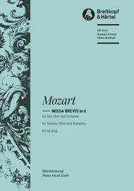 Missa brevis in D minor K. 65 (61a)