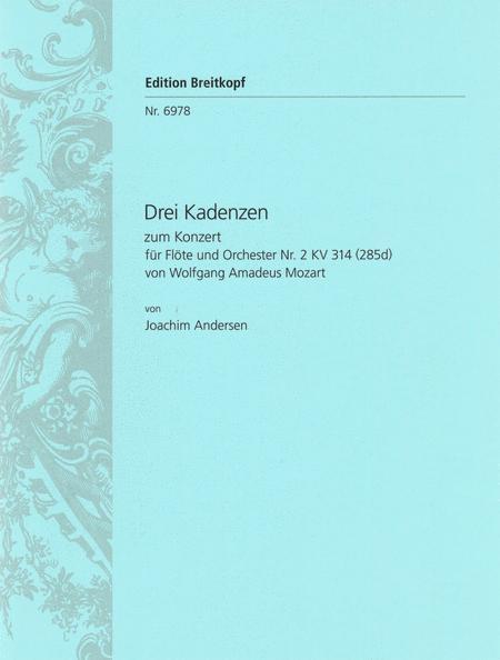 3 Kadenzen zu Mozarts KV 314