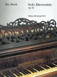 Sechs Klavierstucke op. 12