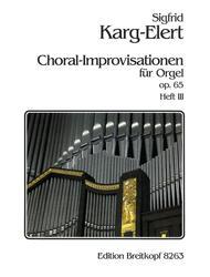 66 Chorale Improvisations Op. 65