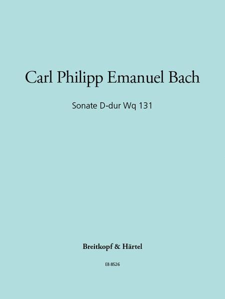 Sonate D-dur Wotq 131