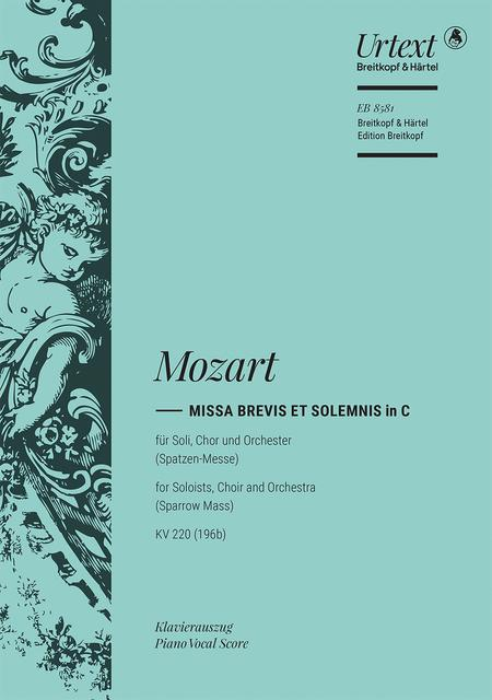 Missa brevis in C major K. 220 (196b)