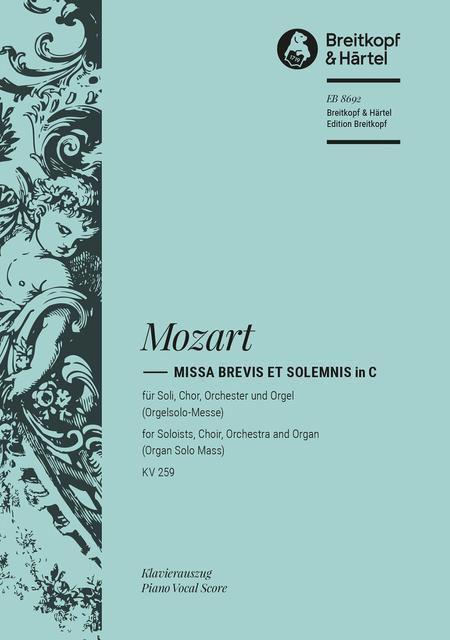 Missa brevis in C KV 259
