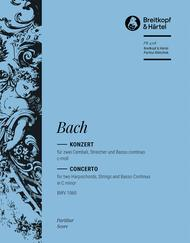 Cembalokonzert c-moll BWV 1060