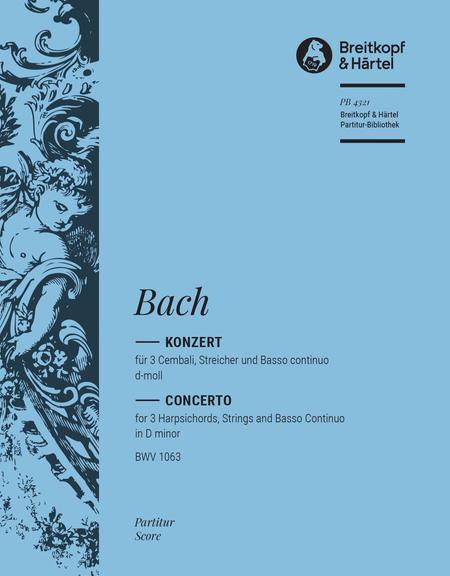 Harpsichord Concerto in D minor BWV 1063