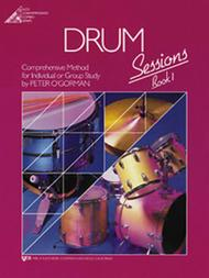 Drum Sessions, Book 1 (Book With CD)