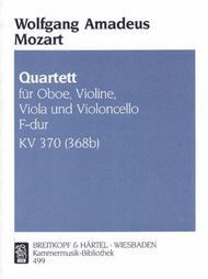 Quartet in F major K. 370