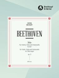 Streichtrio Nr. 1 Es-dur op. 3