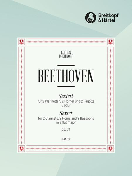 Sextet in Eb major Op. 71