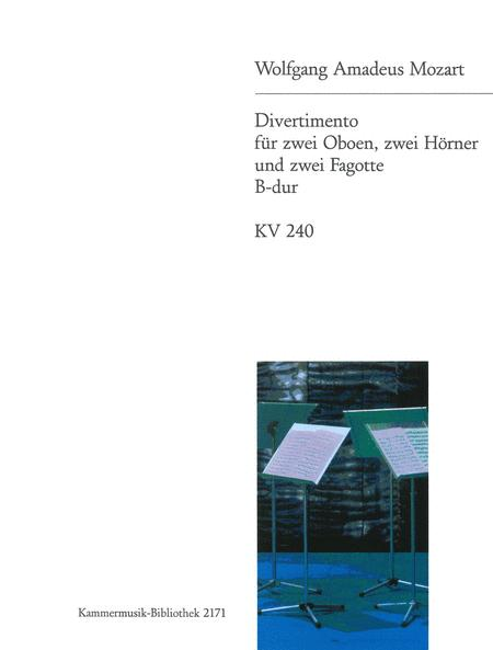 Divertimento in Bb major K. 240
