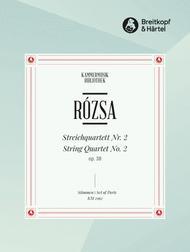 Streichquartett Nr. 2 op. 38