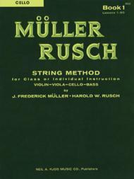 Muller-Rusch String Method Book 1 - Cello