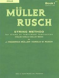 Muller-Rusch String Method Book 1 - Violin