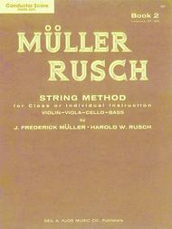 Muller-Rusch String Method Book 2 - Violin
