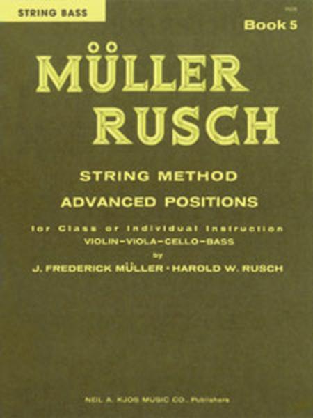 Muller-Rusch String Method Book 5 - Str Bs