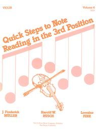 Quick Steps To Notereading, Vol 4 - Cello