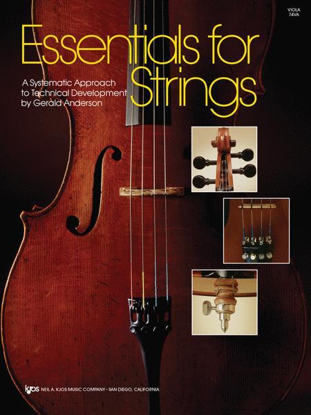 Essentials For Strings - Viola