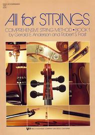 All For Strings Book 1 - Piano