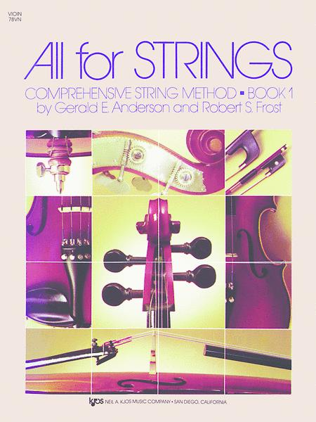 All For Strings - Book 1 (Violin)