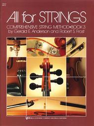 All For Strings Book 3 - Cello