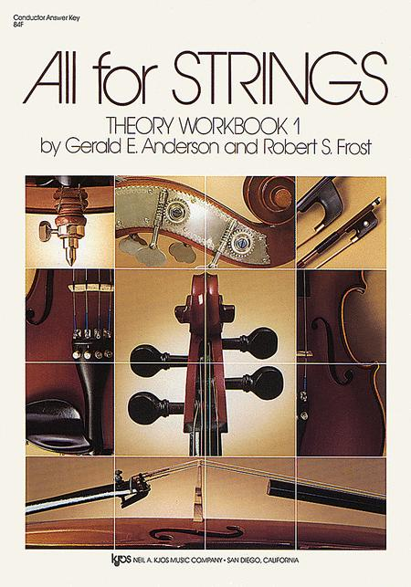 All For Strings Theory Workbook 1 - Conductor Answer Key